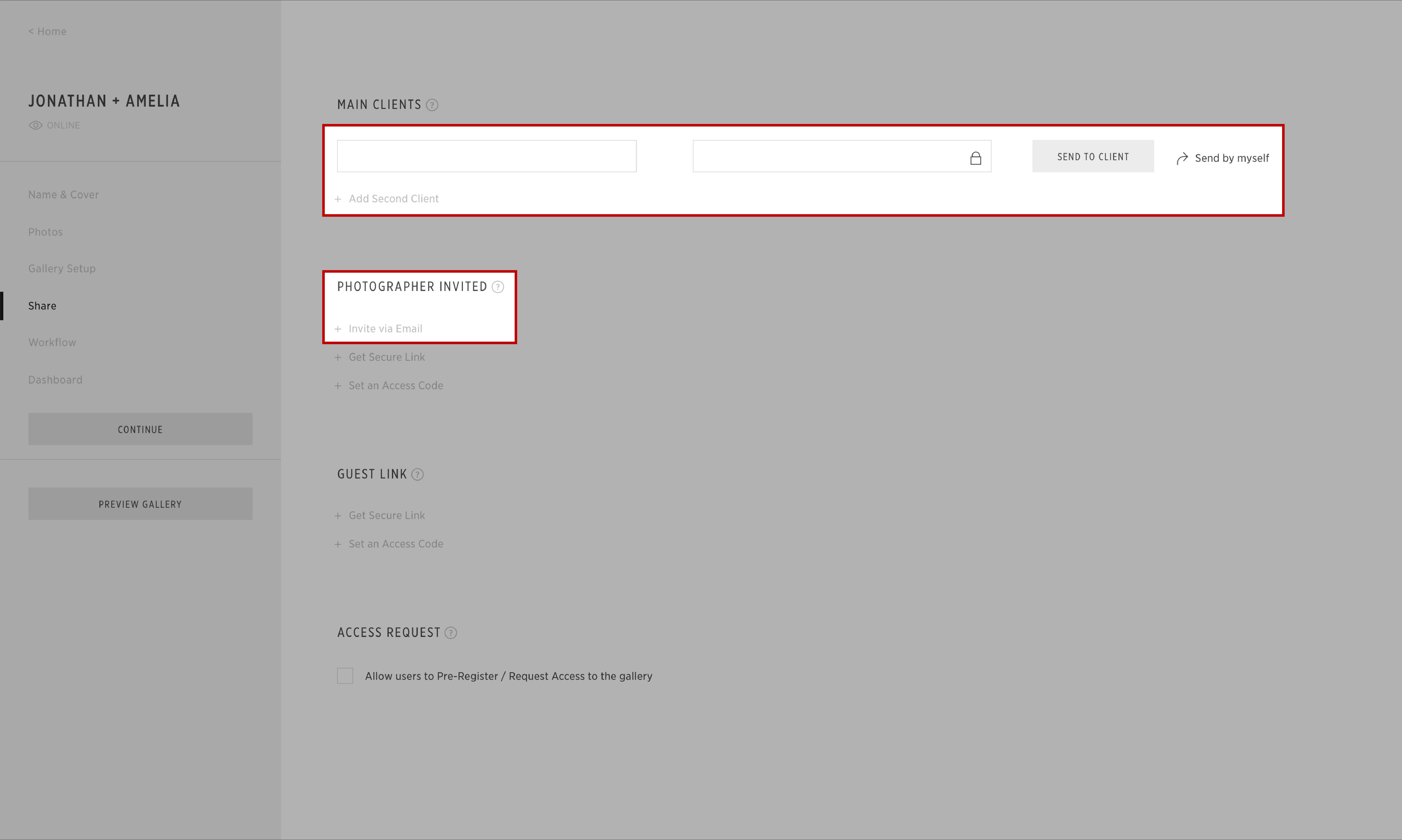 User Login: Access, Password Creation & Management